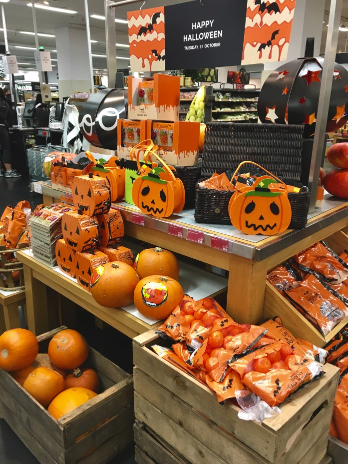 Marks & Spencer at Halloween in London