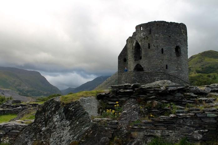 dolbadarn castle, snowdonia