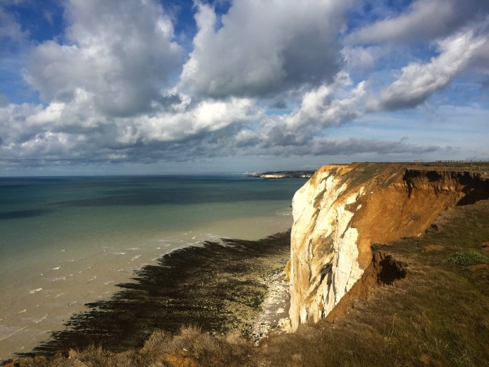 Cliffs in Seaford