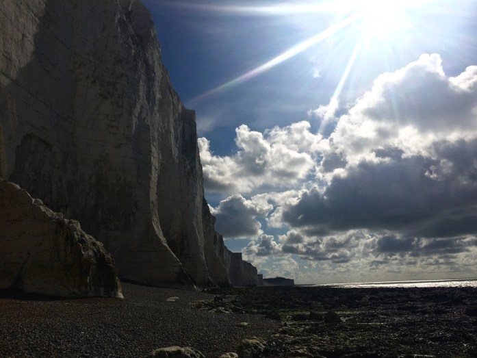 The Seven Sisters Chalk Cliffs