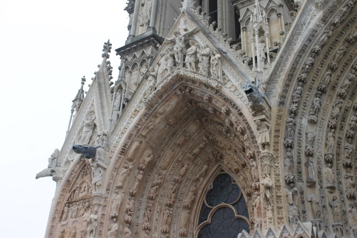 Gargoyles at Reims Cathedral