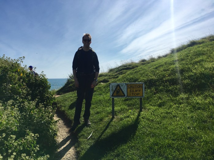 Starting off on the South West Coast Path
