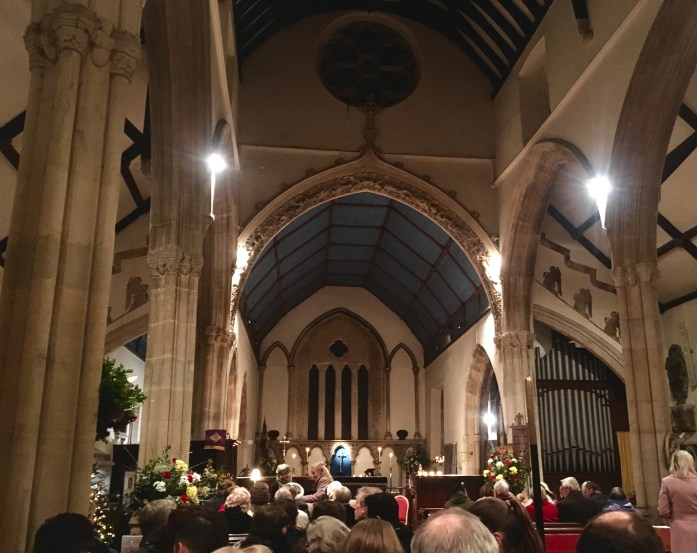 Christmas Carols at St Andrew in Castle Combe