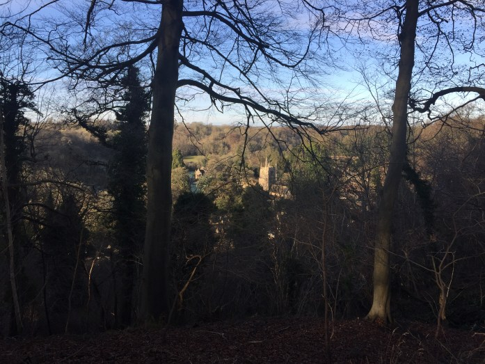 Manor House from the hills of Castle Combe