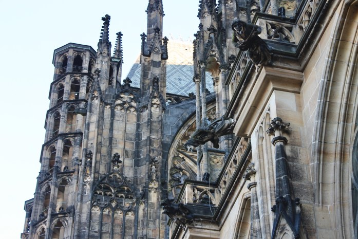Gargoyles at St Vitus Cathedral