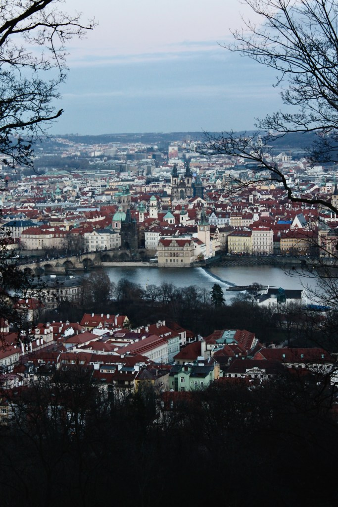 Prague from Tetrin Park