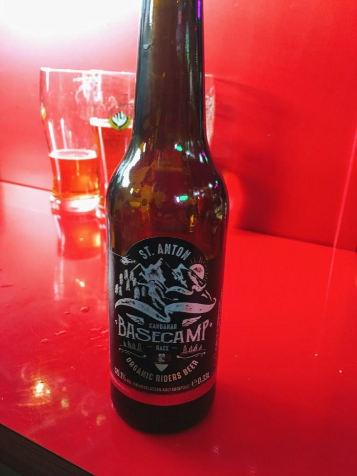 St Anton Basecamp Beer
