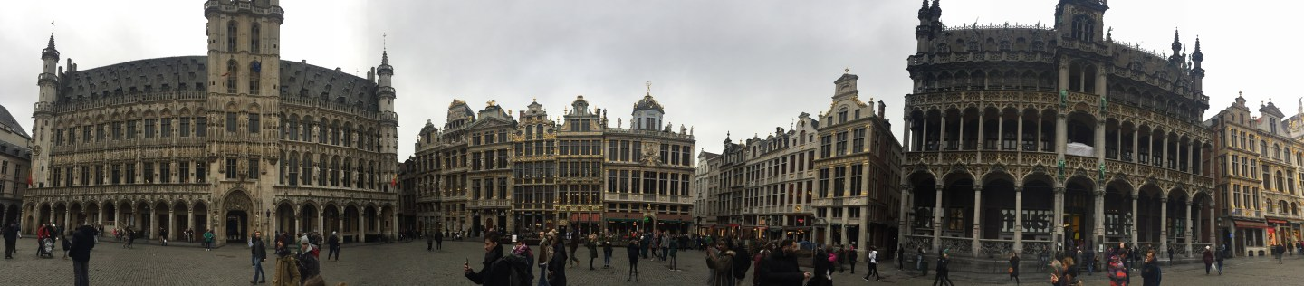An Hour in Brussels, Belgium