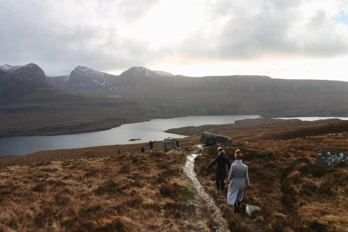 hiking Stac Pollaidh
