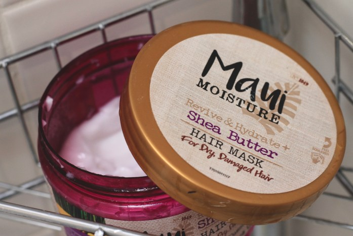 Hard water and curly hair - Maui Moisture deep conditioner