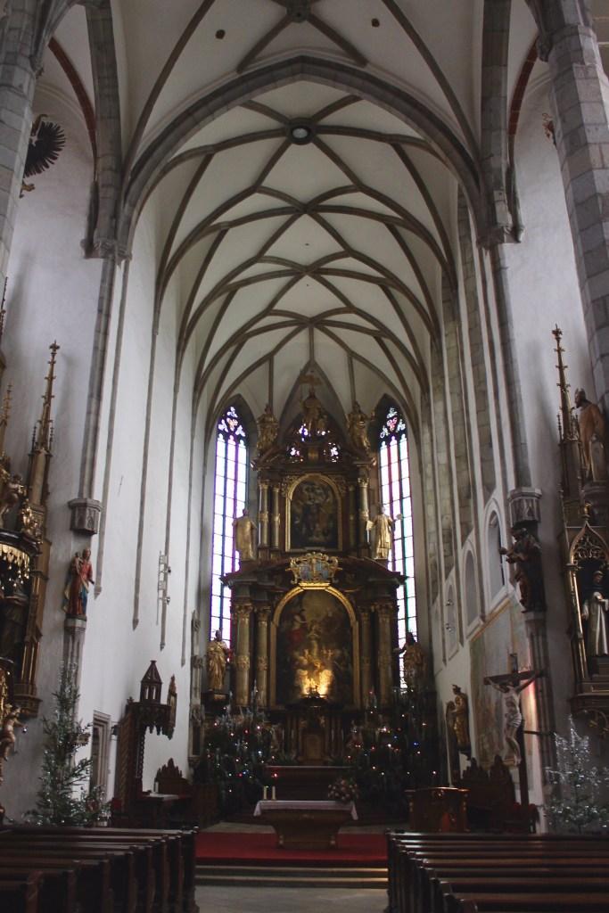 Church of St Vitus, Cesky Krumlov