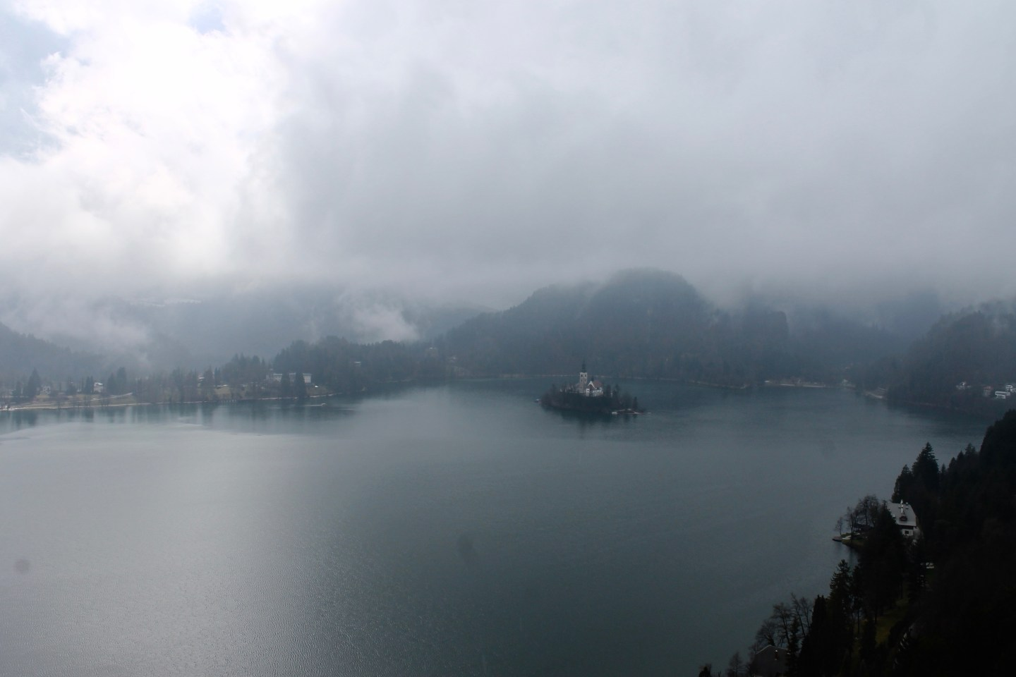 Lake Bled in the Rain: Travel Guide