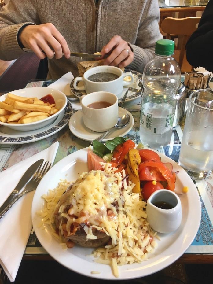 Redburn Cafe near Loch Ness