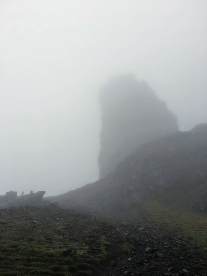 Old Man Storr in the fog