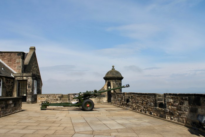 One O'Clock Gun, Edinburgh Castle