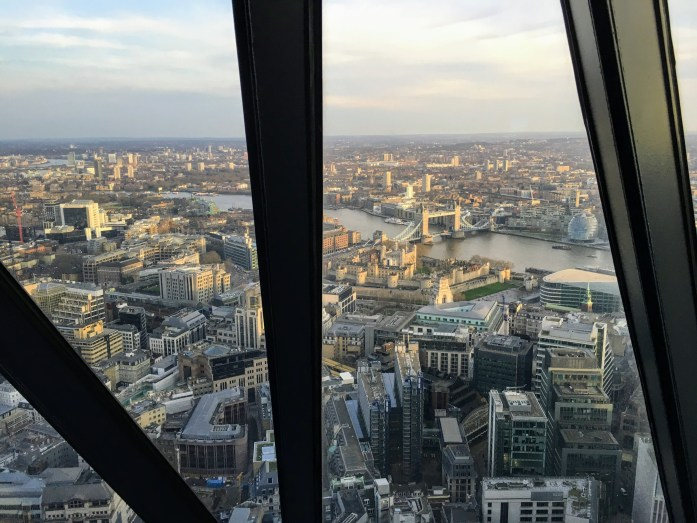 Best Views in London - Searcys at The Gherkin