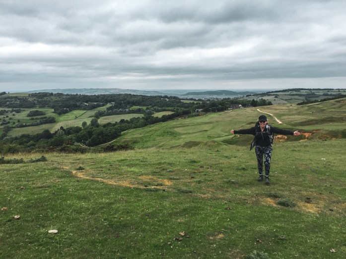 The Cotswold Way, Cleeve Hill, Cheltenham
