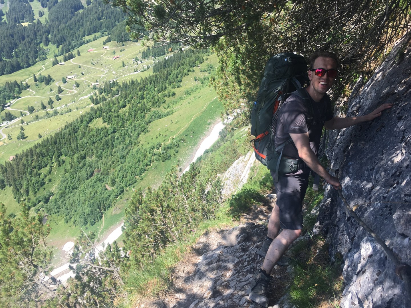 Backpacking in the Swiss Alps: Glecksteinhütte and Grindelwald