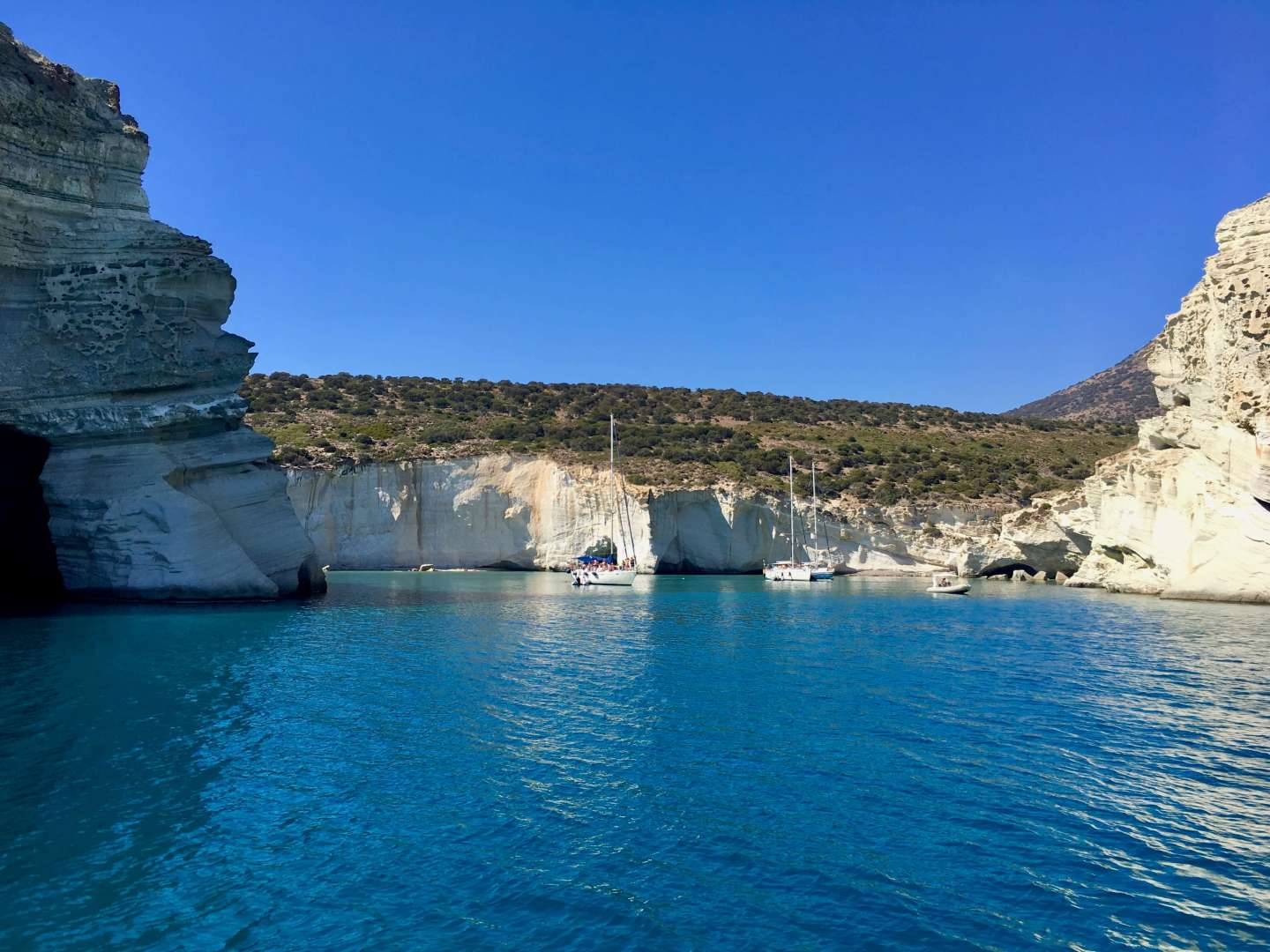 Two Days in Milos, Cyclades, Greece