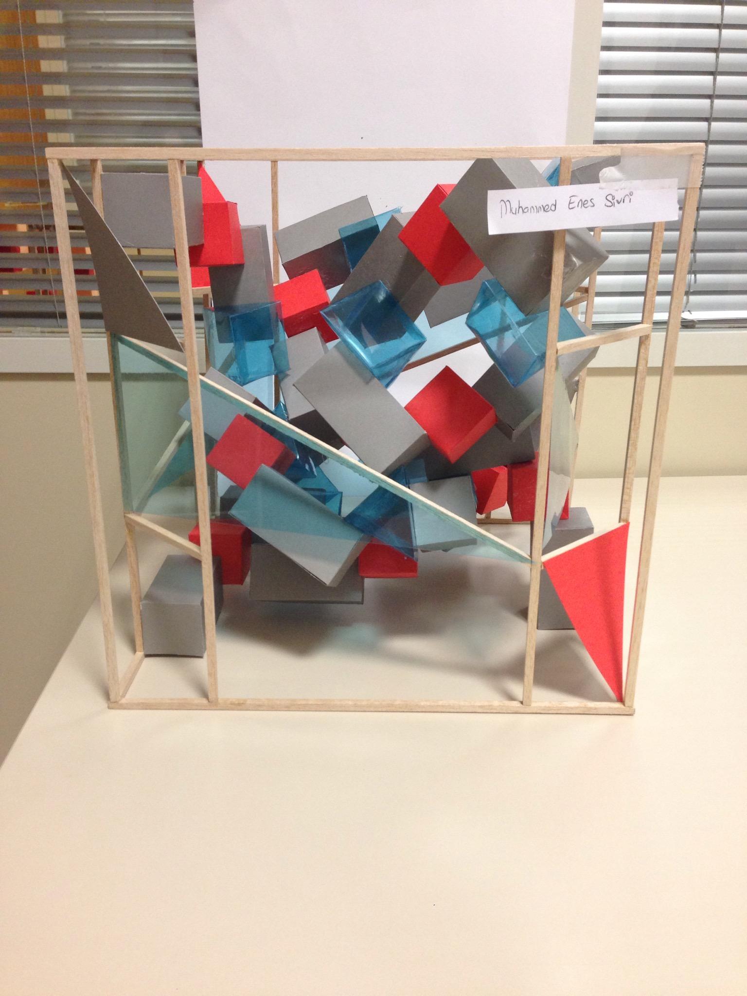 Visual Cube Exercise Basic Design Critics