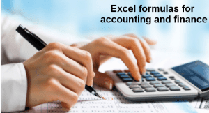 Excel Formulas for Accounting and Finance