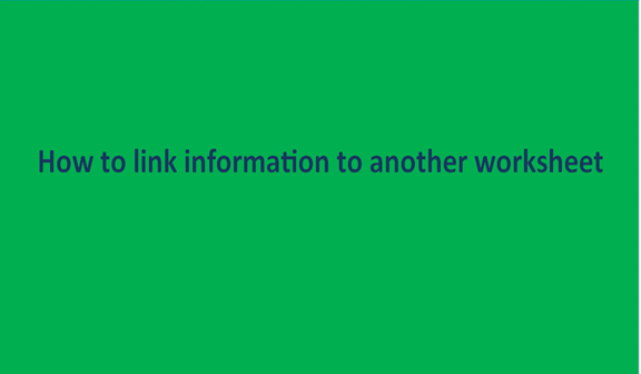 You are currently viewing How to link information to another worksheet