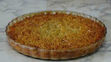 almond pie, delicious dessert, amendoa, chipped,
