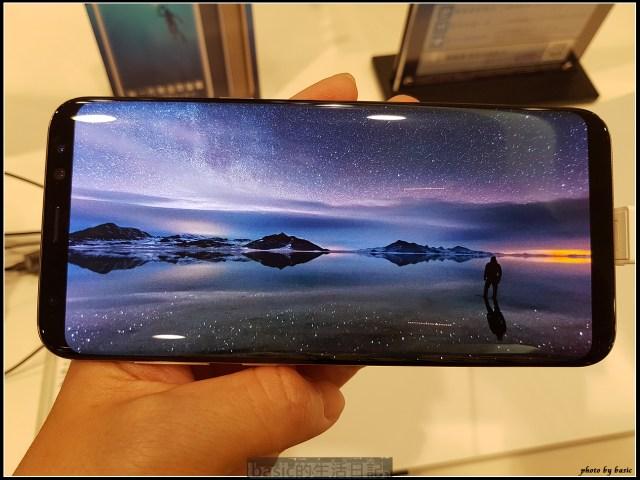 破框而出的大視界-Galaxy S8+開箱 , 功能 , 拍照評測分享