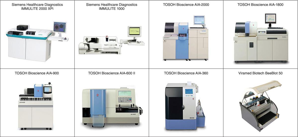 17  Automated Immunoassay Analyzers