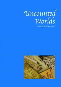 Uncounted Worlds - Issue One Cover