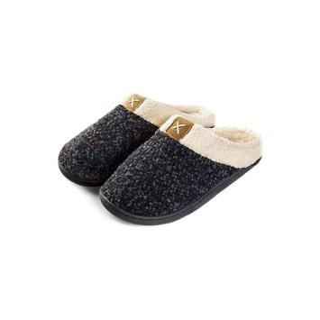 ULTRAIDEAS Ladies' Cozy Memory Foam Slippers