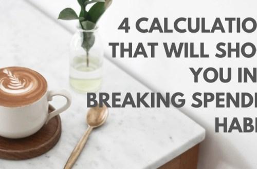 break bad spending habits