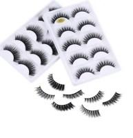 5 pairs 5D Mink Eyelashes Natural False Eyelashes AliExpress