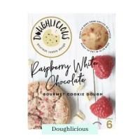 Raspberry White Chocolate cookie Dough