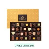 Milk and dark truffle chocolates godiva chocolates