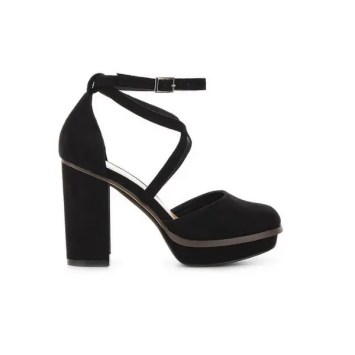 Bellona Platform Heels Extra Wide Fit By Simply Be