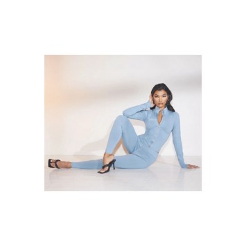 Light blue casual wear at Pretty little thing.