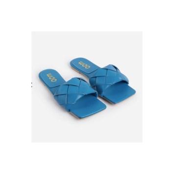 Ego blue mules shoes