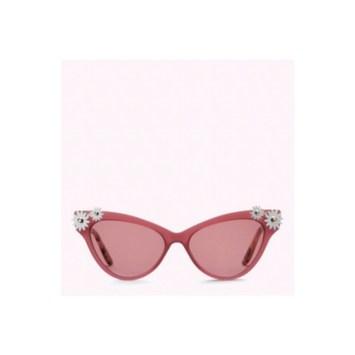 pink vintage sunglasses at lulu guinness