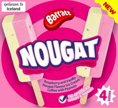 Barratt Barratt® Nougat Ice Lollies