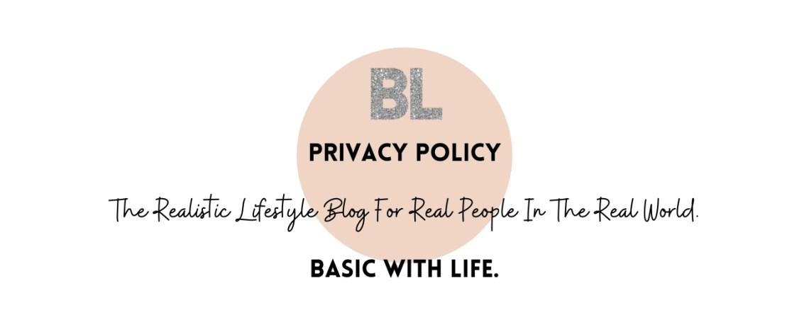 Privacy Policy Basic With Life Blog