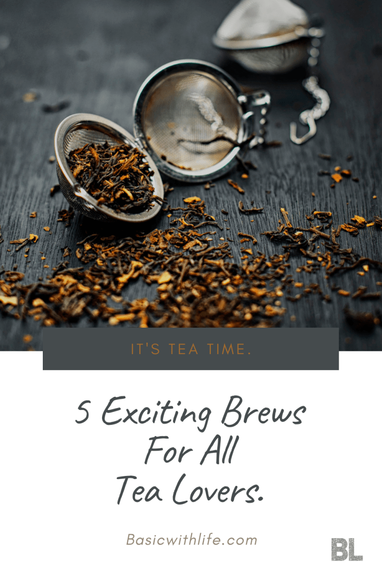 5 exciting brews for tea lovers
