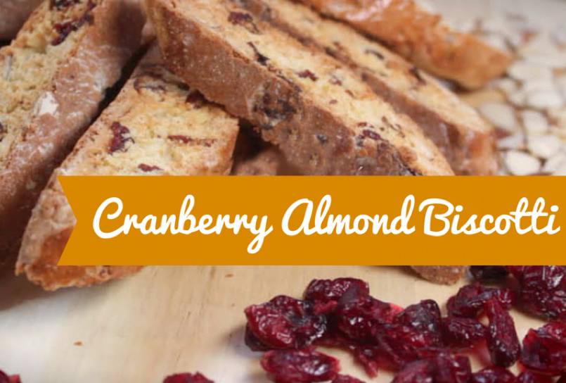 Cranberry-Almond Biscotti recipe, Basil Bandwagon Natural Market