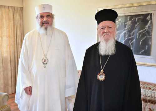 Patriarhul României şi Patriarhul Ecumenic