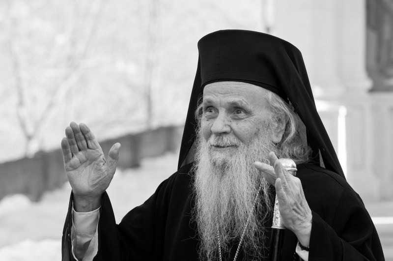 Archbishop Justinian passed away to the Lord
