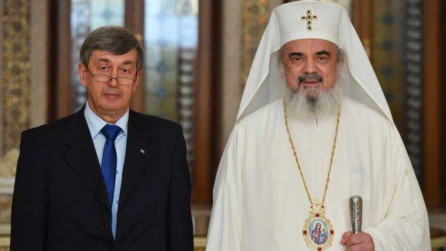 Ambasadorul Federatiei Ruse Valery Kuzmin în vizită de prezentare la Patriarhul Daniel