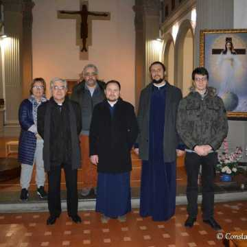 Credinciosii parohiei din Empoli au locas de inchinare