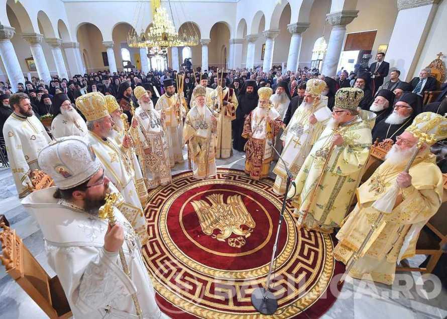 poziția Sfântului Sinod al Bisericii Ortodoxe Române referitoare la evoluțiile recente din România privind receptarea Sfântului și Marelui Sinod al Bisericii Ortodoxe (Creta, 2016)