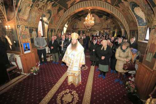 PS Andrei slujind la Mărcuş - jud. Harghita