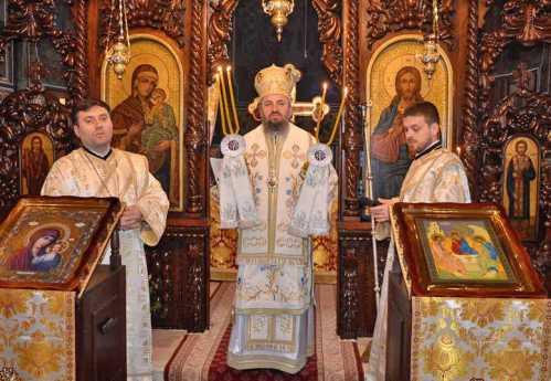 PS Gurie slujind în Parohia Petroşani 2
